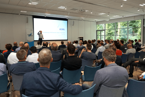 Business software event lezing